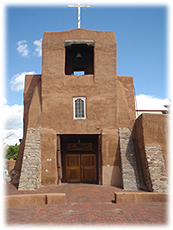 The Oldest Church in America is in Santa Fe, New Mexico.