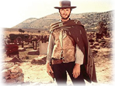 Clint Eastwood wore a mexican poncho in his spaghetti westerns.