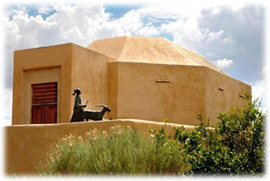 Wheelwright Museum of the American Indian in Santa Fe, New Mexico.